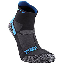 Buy Hilly Energize Anklet Socks, Black/Blue Online at johnlewis.com