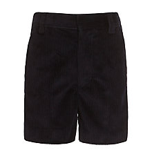 Buy Boys' Cord Shorts, Navy Online at johnlewis.com