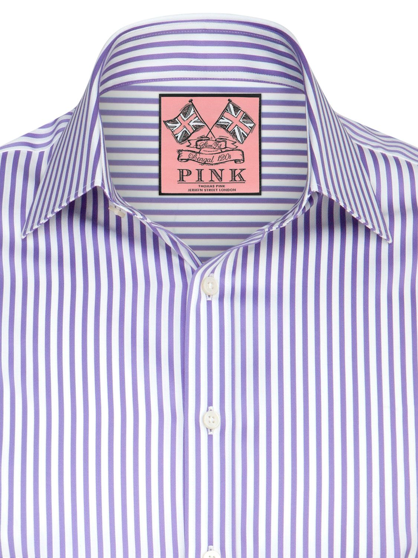 cd59f407 Thomas Pink Algernon Stripe Shirt at John Lewis & Partners