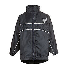 Buy Windrush Valley School Waterproof Tracksuit Top, Navy Online at johnlewis.com