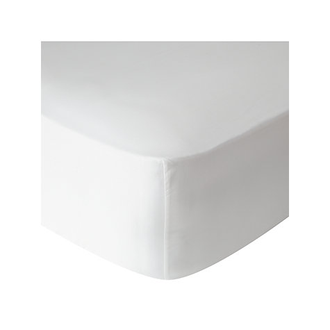 Buy John Lewis 400 Thread Count Soft & Silky Egyptian Cotton Deep Fitted Sheet Online at johnlewis.com