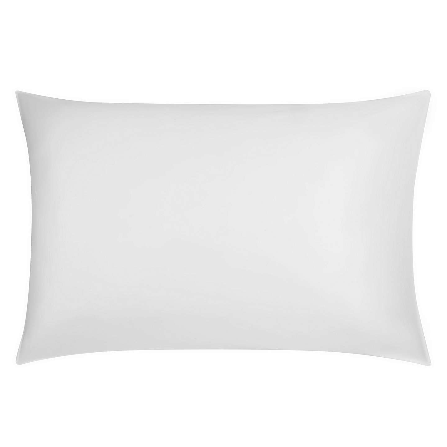 BuyJohn Lewis 400 Thread Count Soft & Silky Egyptian Cotton Pillowcase, White, Standard Online at johnlewis.com