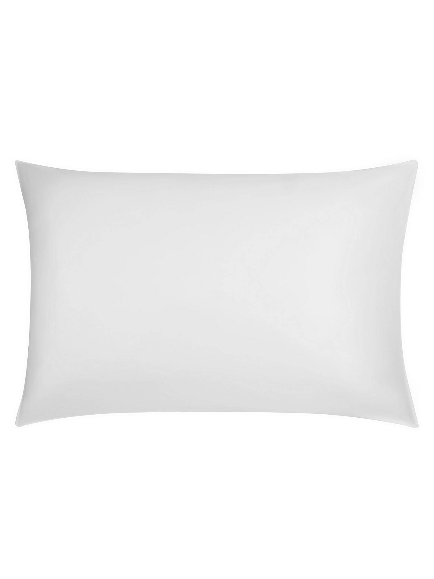 Buy John Lewis & Partners 400 Thread Count Soft & Silky Egyptian Cotton Pillowcase, White, Standard Online at johnlewis.com