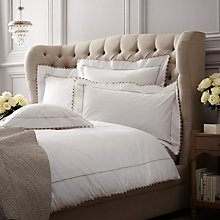 Buy Peter Reed Waves Cotton Bedding, Natural Online at johnlewis.com