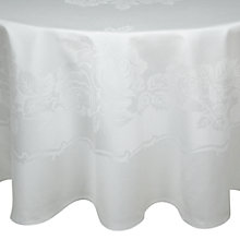 Buy John Lewis Rose Damask Round Tablecloth Online at johnlewis.com