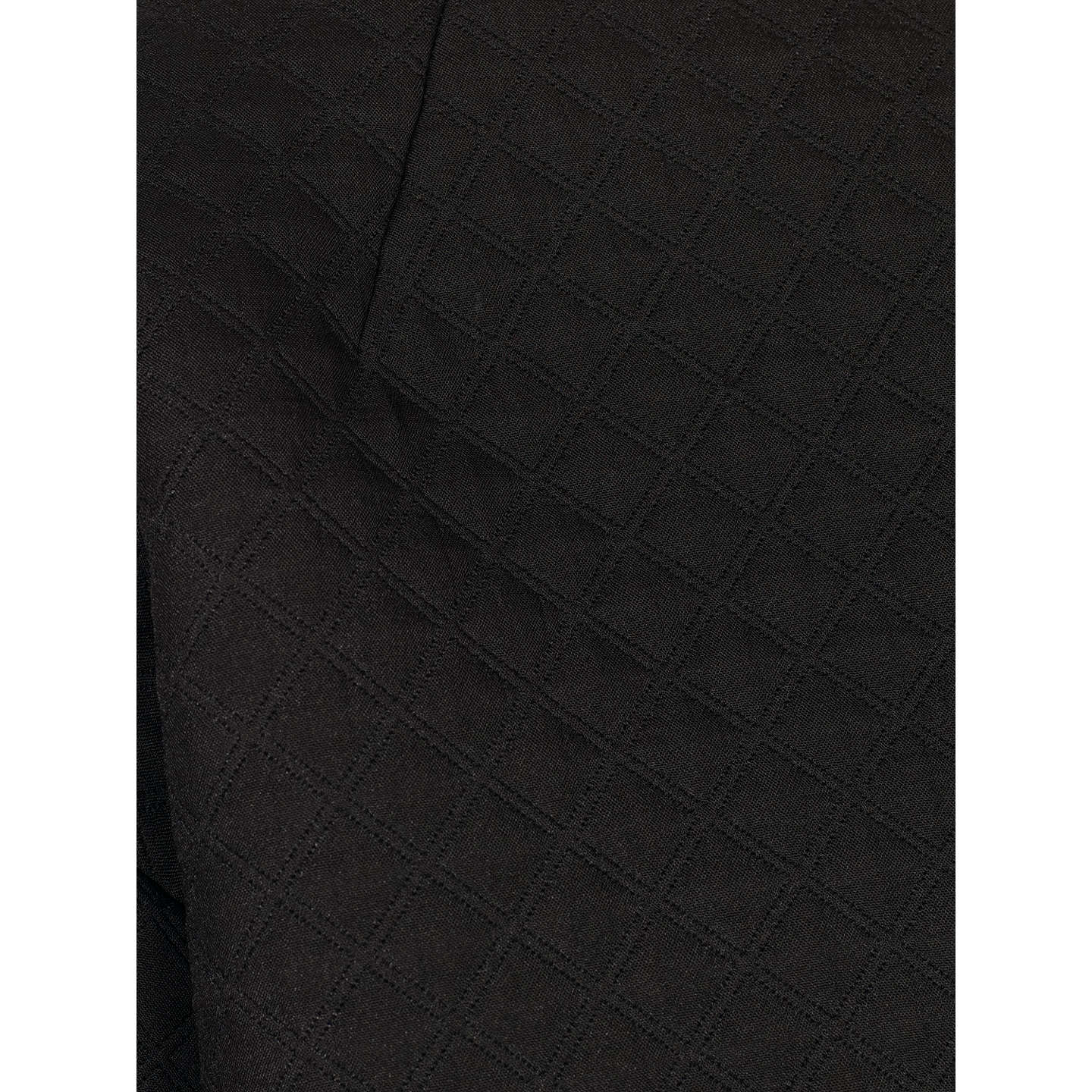 BuyKin by John Lewis Quilted Boxy Jacket, Black, 8 Online at johnlewis.com
