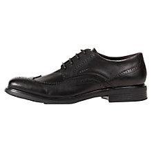Buy Geox Dublin Brogue Derby Shoes, Black Online at johnlewis.com