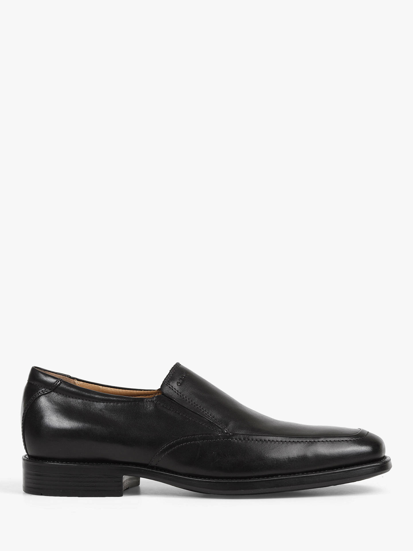 BuyGeox Federico Apron Slip-On Shoes, Black, 7 Online at johnlewis.com