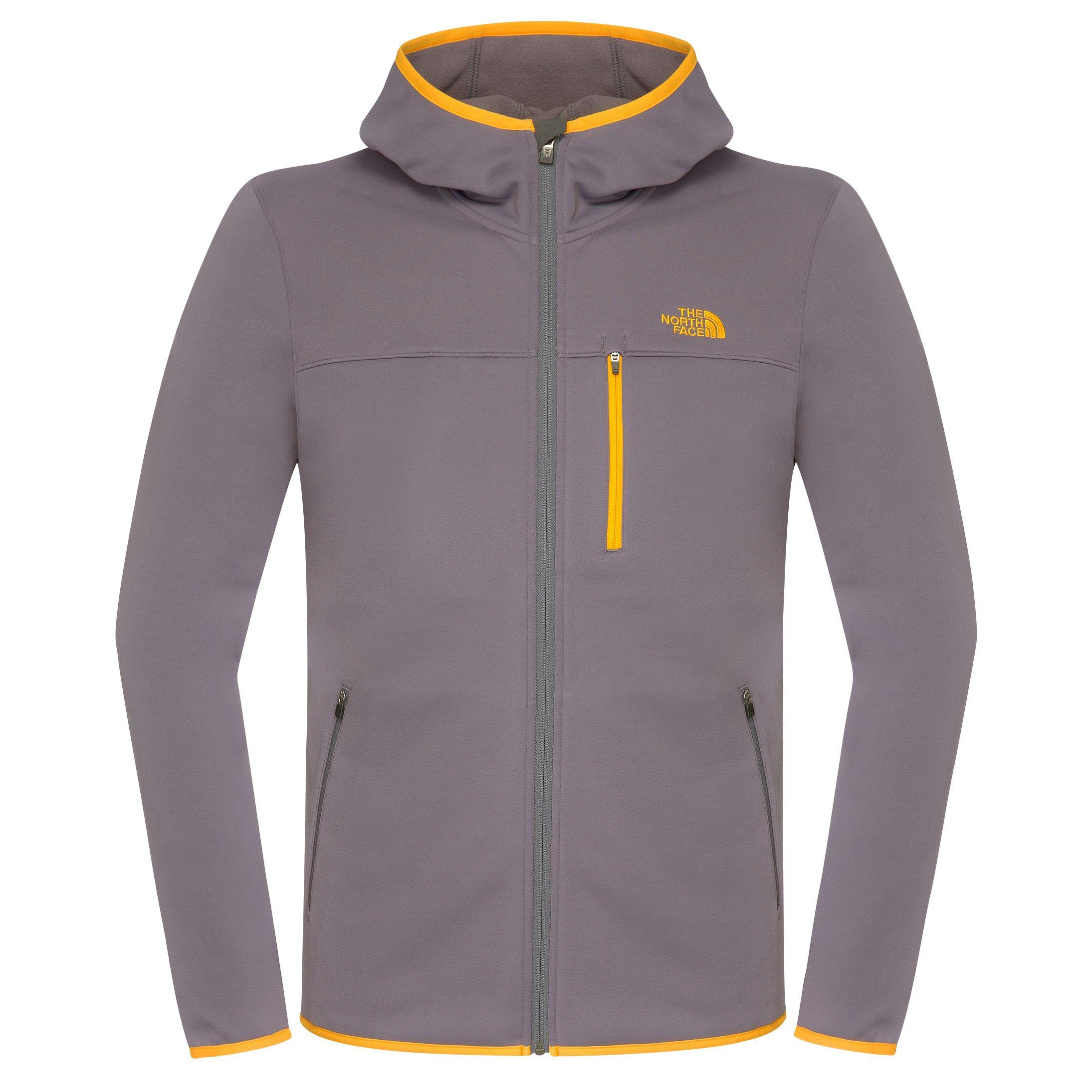 beb087936 The North Face Men's Lixus Full Zip Hoodie Jacket, Vandis Grey at ...