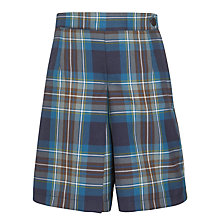 Buy Westville House School Girls' Culottes, Tartan Online at johnlewis.com