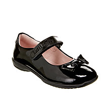 Buy Lelli Kelly Children's Perrie Dolly Patent Leather Shoes, Black Online at johnlewis.com