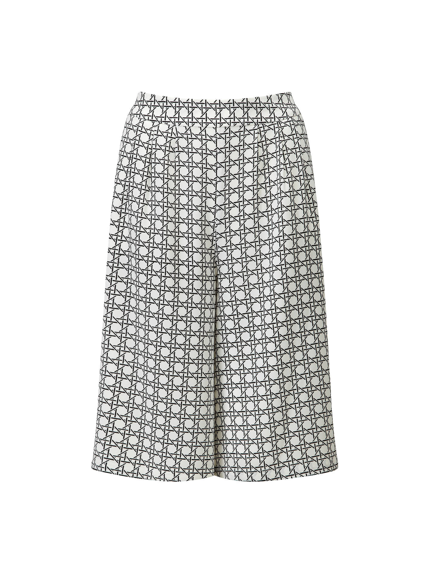 Buy Viyella Ella Mono Culottes, Black, 8 Online at johnlewis.com