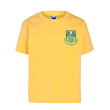 Buy Our Lady's Bishop Eton Primary School T-Shirt, Sunflower Online at johnlewis.com