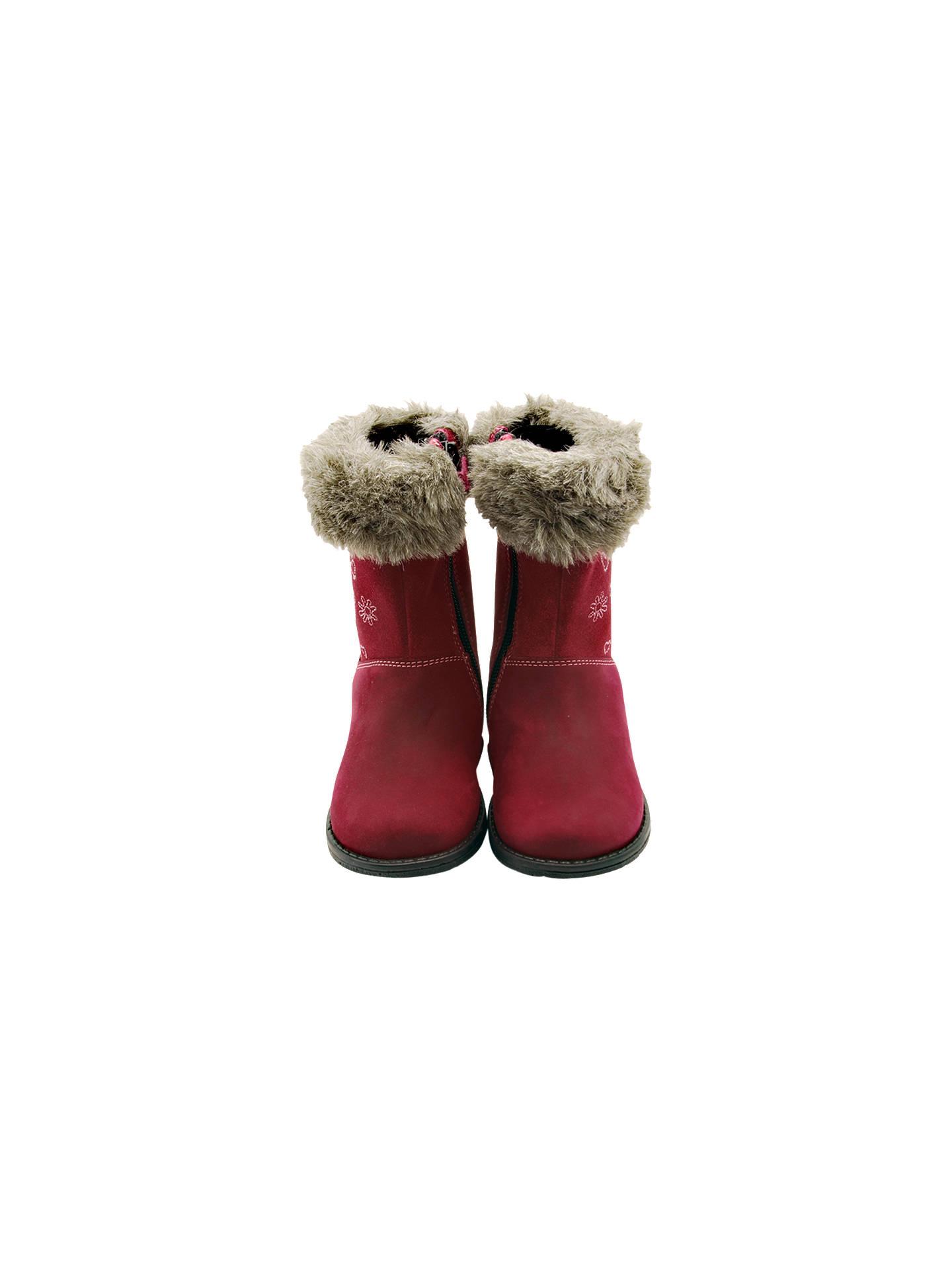 eb607fe22 ... Buy Start-rite Aqua-rite Twilight Calf Boots, Berry, 24F Jnr Online ...