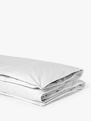 John Lewis & Partners Natural Goose Feather & Down 3-in-1 Duvet, 13.5 Tog (4.5 + 9 Tog)