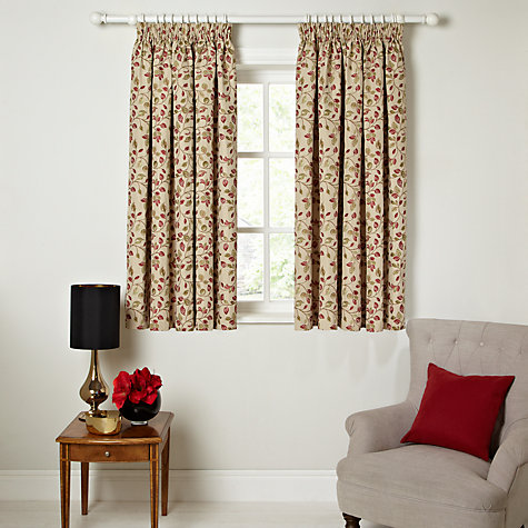 Buy John Lewis Sherwood Lined Pencil Pleat Curtains Online At Johnlewis