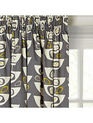 c79961ed8fcf John Lewis & Partners Seedheads Pair Lined Pencil Pleat Curtains