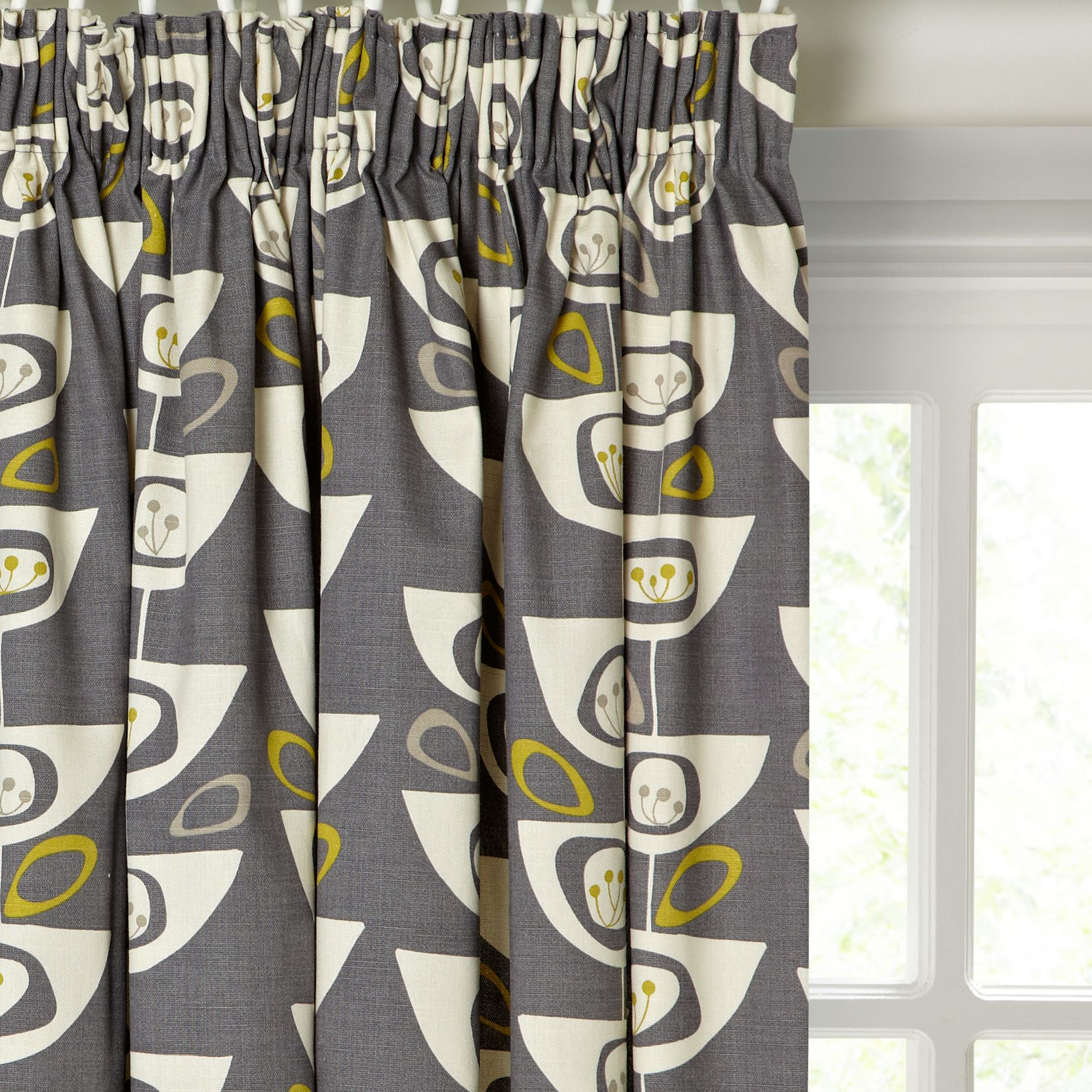 Grey and yellow curtains uk john lewis - John Lewis Nadia Linen Lined Pencil Pleat Curtains Compare Bluewater