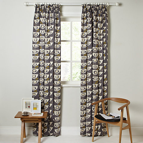 Buy John Lewis Seedheads Lined Pencil Pleat Curtains Online At Johnlewis