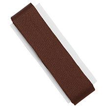 Buy Prym Ribbed Tape, 26mm, Brown Online at johnlewis.com