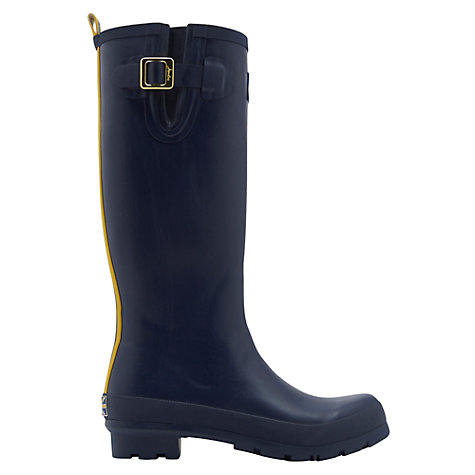 Buy Joules Field Rubber Wellington Boots, Navy Online at johnlewis.com