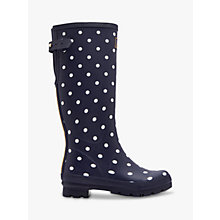 Buy Joules Printed Rubber Wellington Boots Online at johnlewis.com
