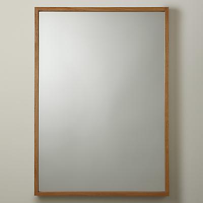 John Lewis Scandi Oak Mirror, 104 x 73cm, Natural
