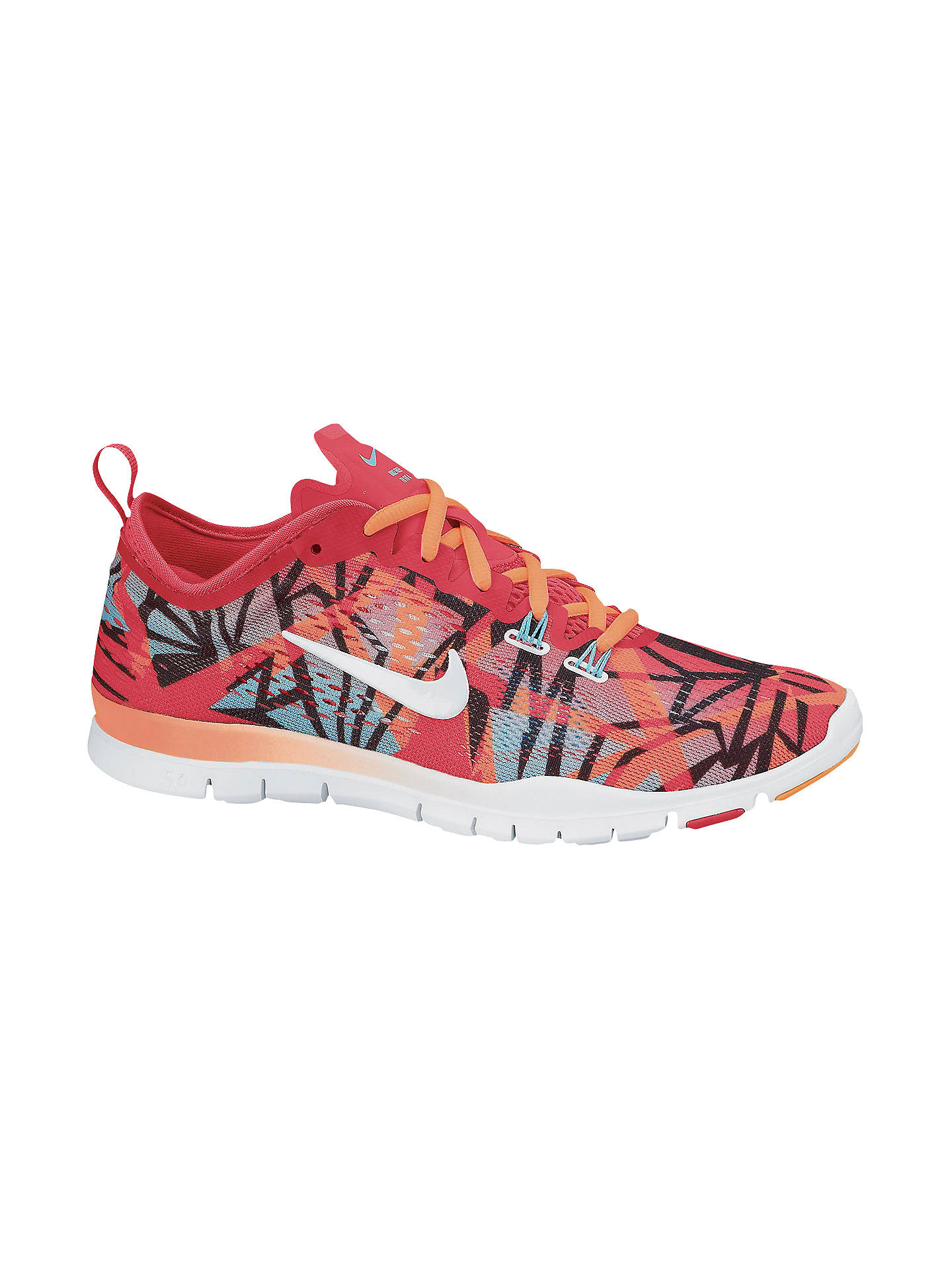 premium selection 998c8 8eb97 Nike Women's Free 5.0 TR Fit 4 Cross Trainers, Red/Multi at ...