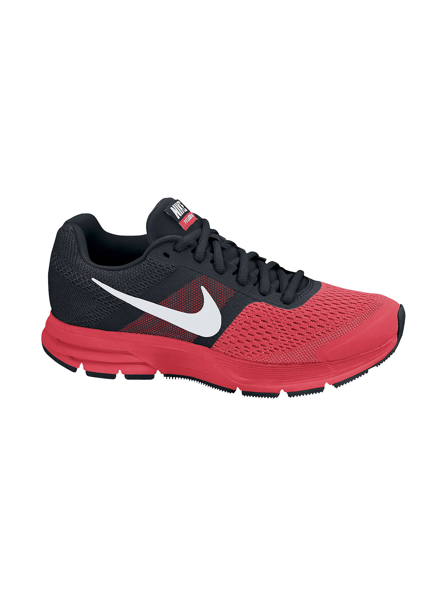 more photos d692b df560 Buy Nike Air Pegasus+ 30 Women's Running Shoes, Red/Black, 4 Online at