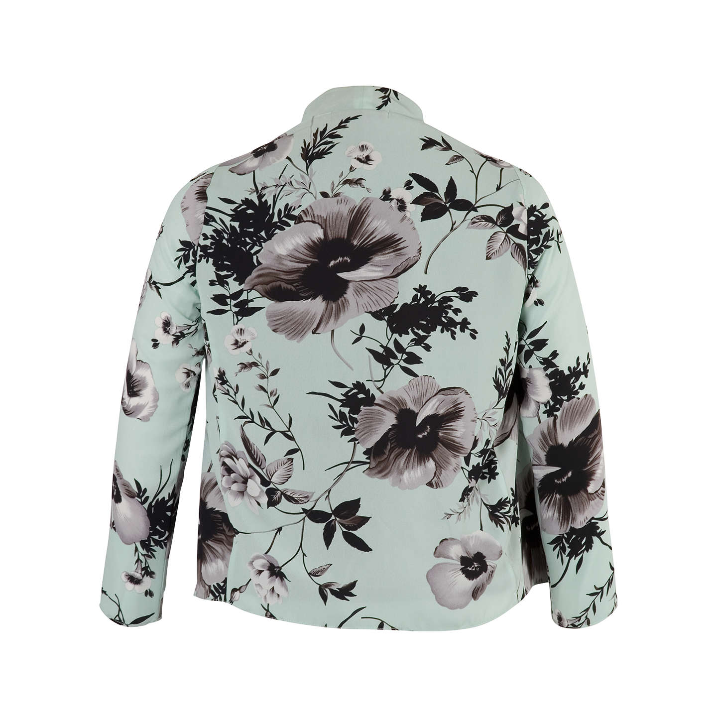 BuyChesca Mesh Lined Poppy Shrug, Opal, 12 Online at johnlewis.com