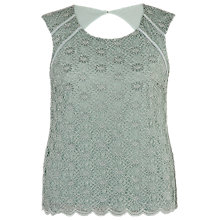 Buy Chesca Daisy Lace Cathedral Top, Opal Online at johnlewis.com