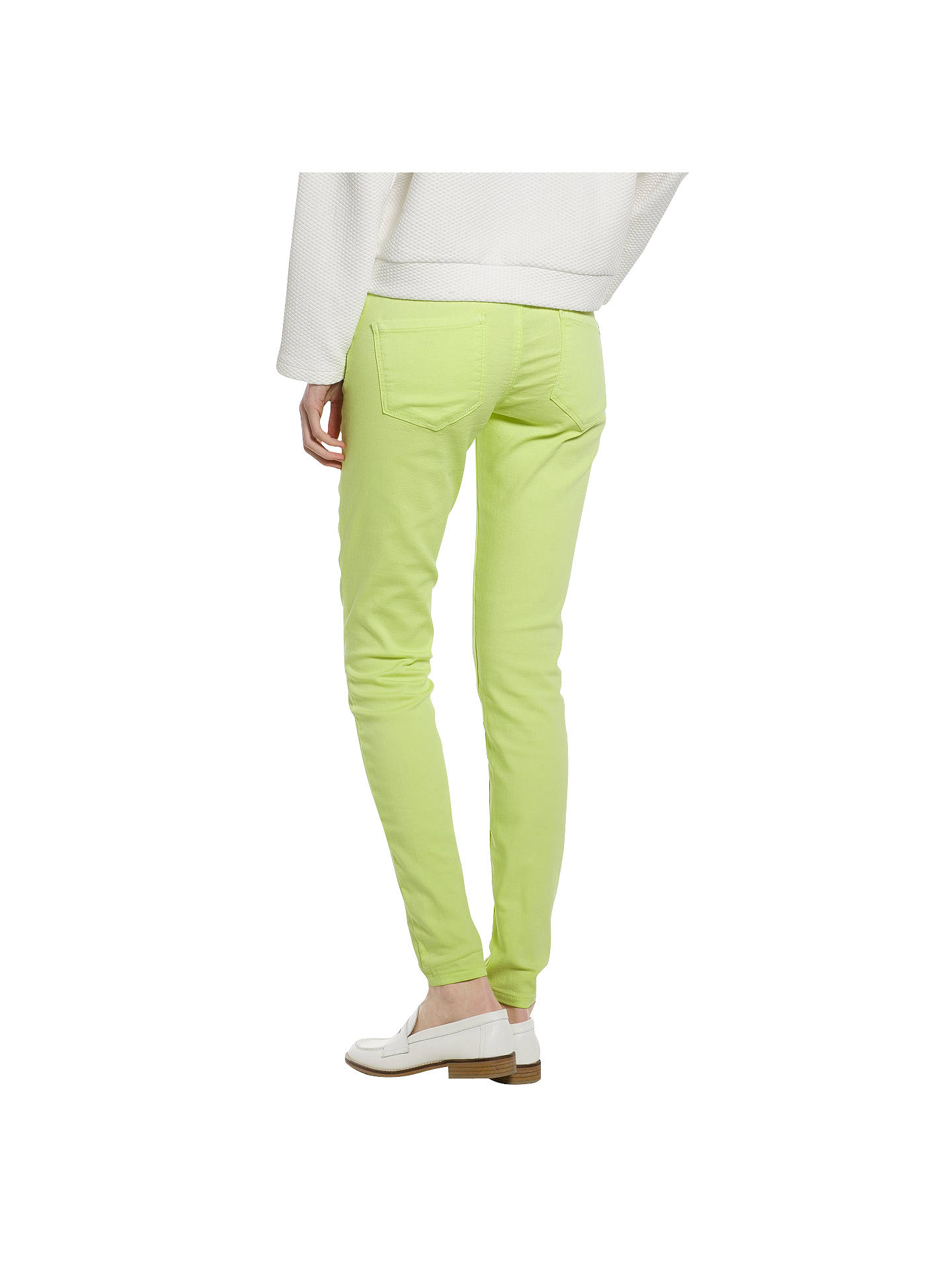 Buy Mango Coloured Jeggings, Bright Green, 6 Online at johnlewis.com