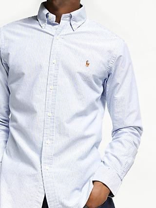6452b0bad Polo Ralph Lauren Slim Fit Striped Oxford Shirt