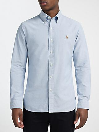 Polo Ralph Lauren Cotton Oxford Slim Fit Shirt