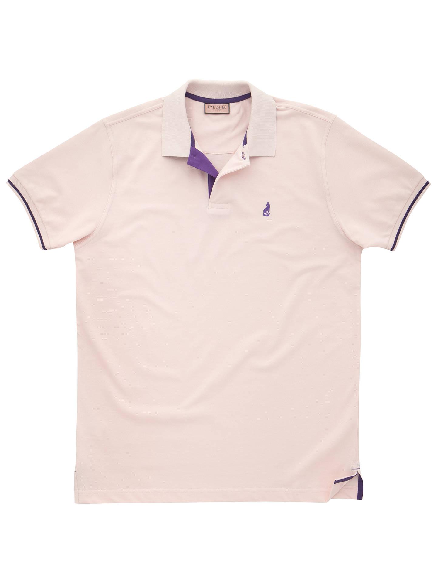 Thomas Pink Brandon Plain Polo Shirt At John Lewis Partners