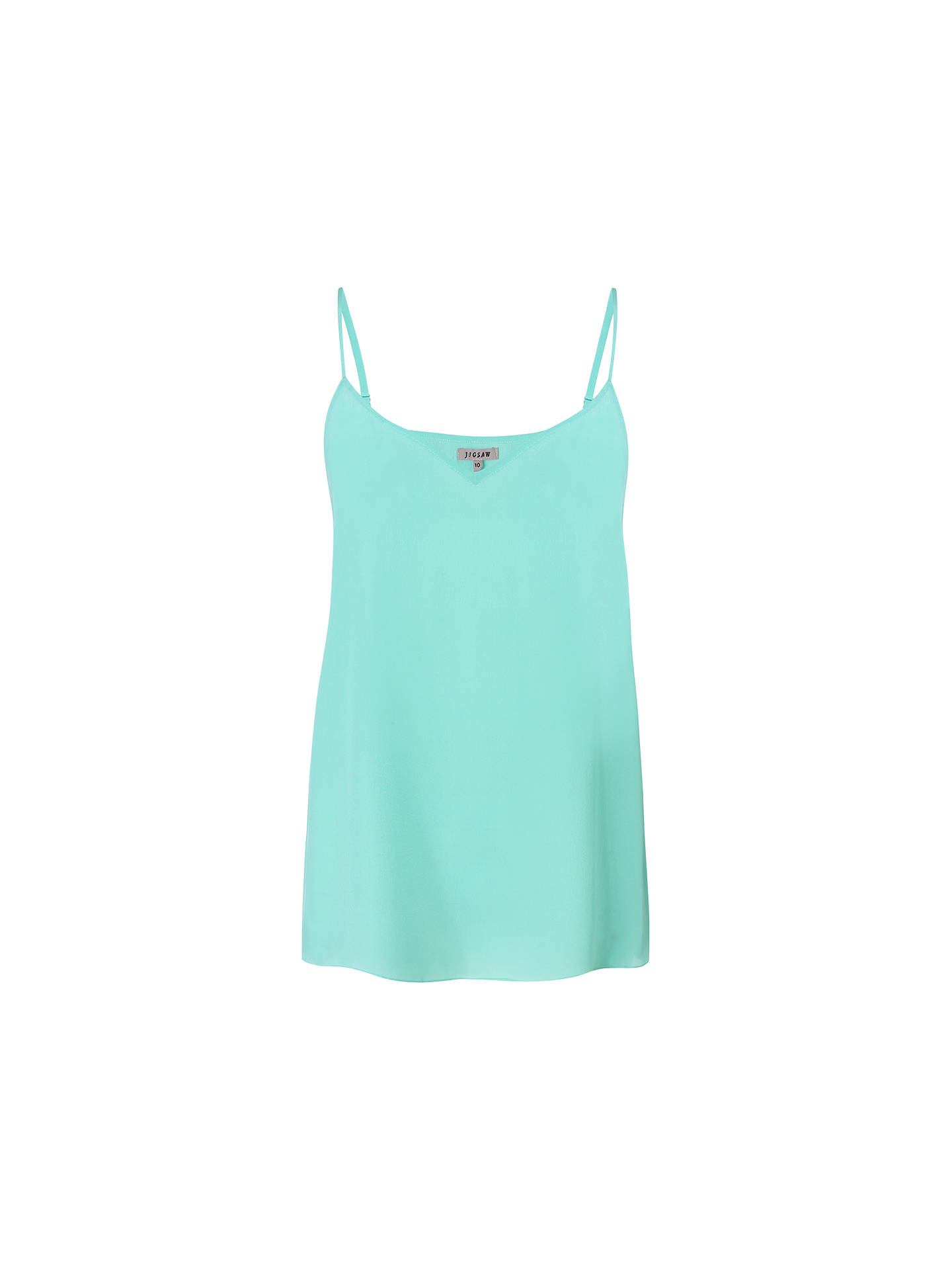 BuyJigsaw Silk Camisole Top, Mint, 8 Online at johnlewis.com
