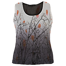 Buy Chesca Reversible Double Layer Print Camisole, Ivory Online at johnlewis.com