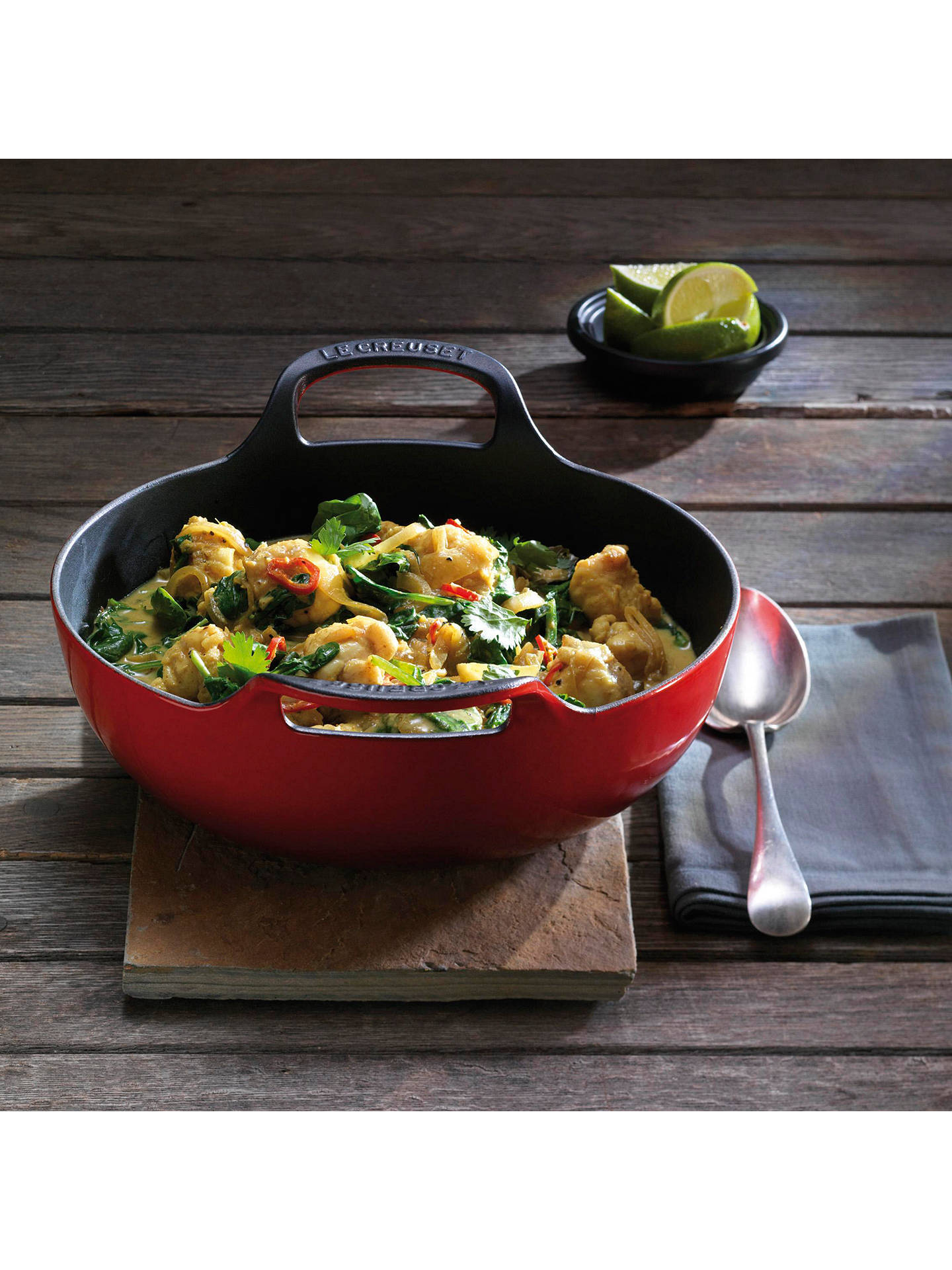 Le Creuset Cast Iron Balti Dish 24cm at John Lewis & Partners