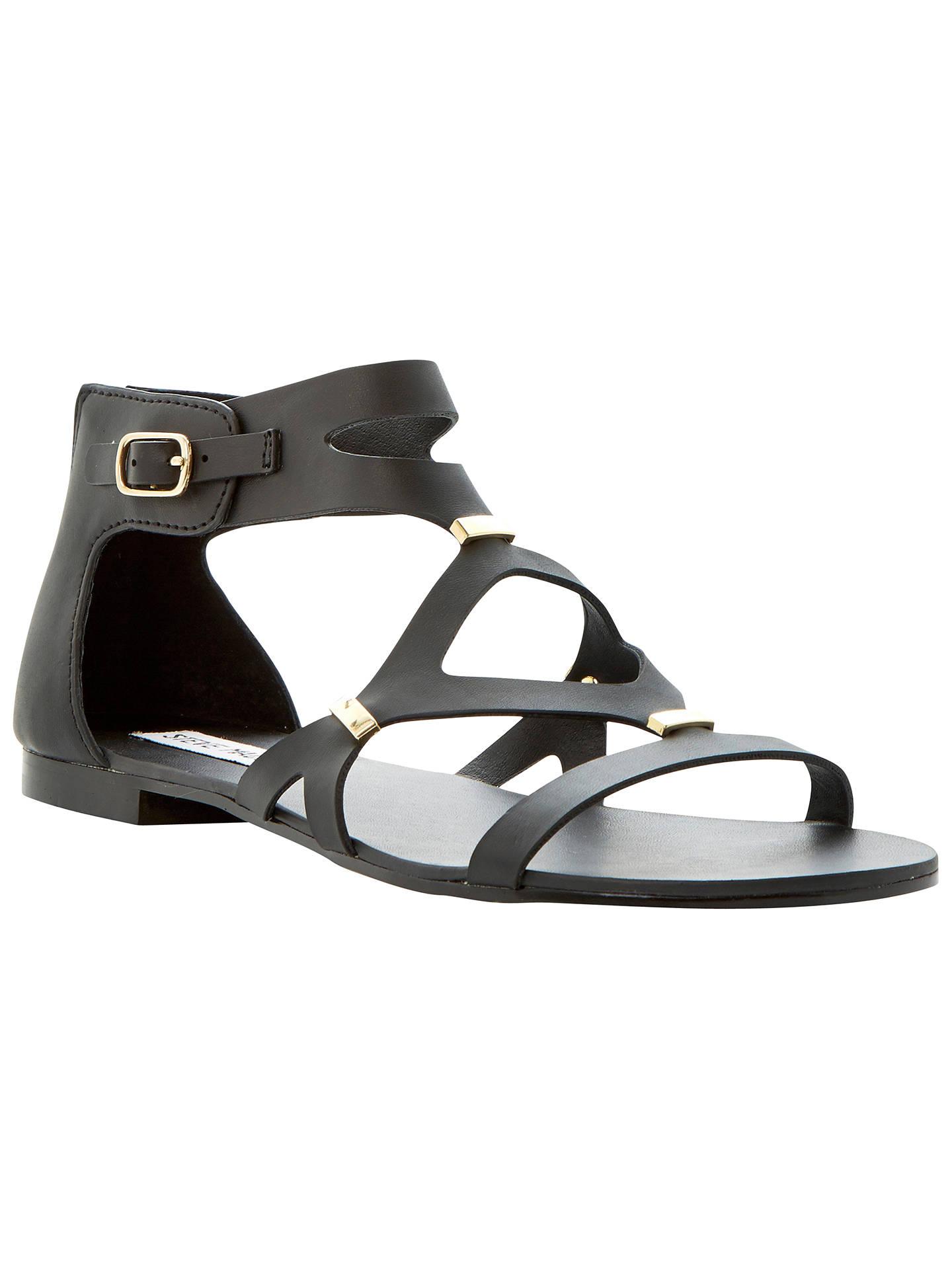 884d83906661 Steve Madden Comma Strappy Zip Back Gladiator Sandals at John Lewis ...