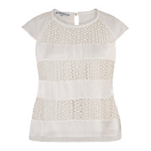 Buy Chesca Lace Chiffon Top Online at johnlewis.com