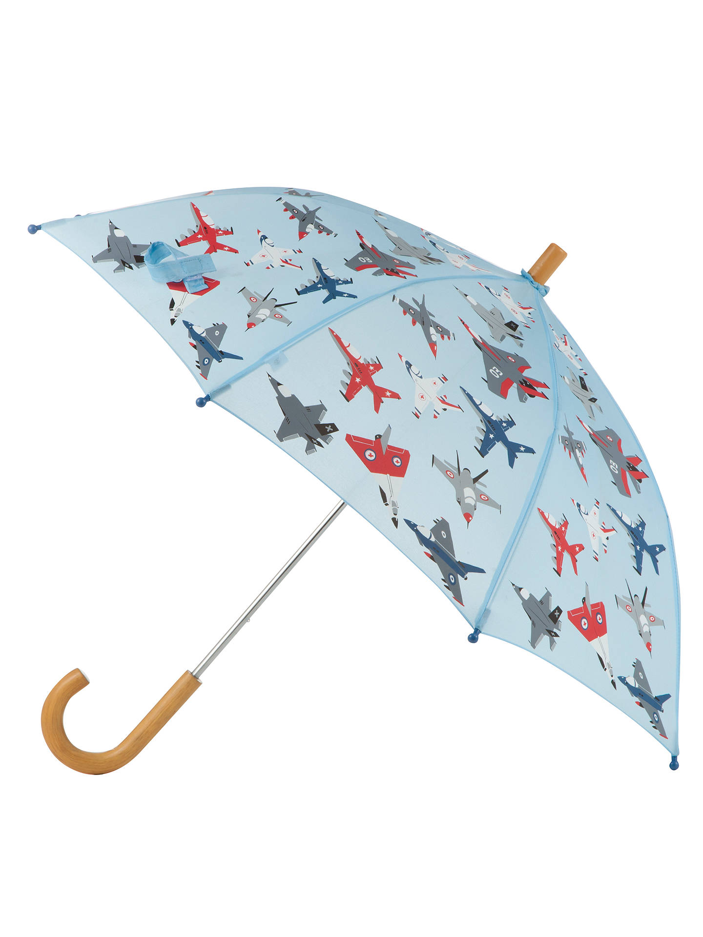Buy Hatley Plane Umbrella, Pale Blue Online at johnlewis.com
