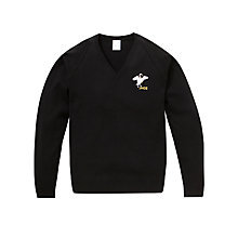 Buy John Hampden Grammar School Boys' Jumper, Black Online at johnlewis.com