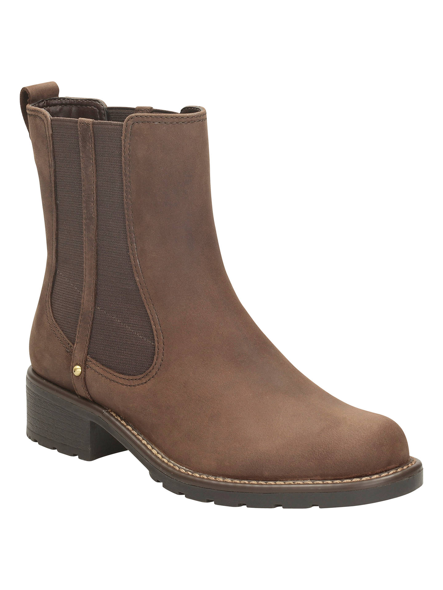 5241b680bb559 Clarks Orinoco Club Leather Ankle Boots at John Lewis   Partners