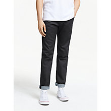 Buy Diesel Buster Tapered Jeans, Rinse 607A Online at johnlewis.com