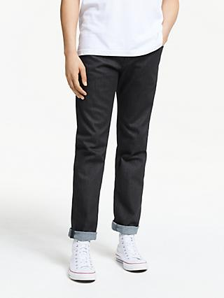 Diesel Buster Tapered Jeans, Rinse 607A