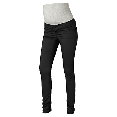 Product photo of Mamalicious noos shelly slim fit maternity jeans black