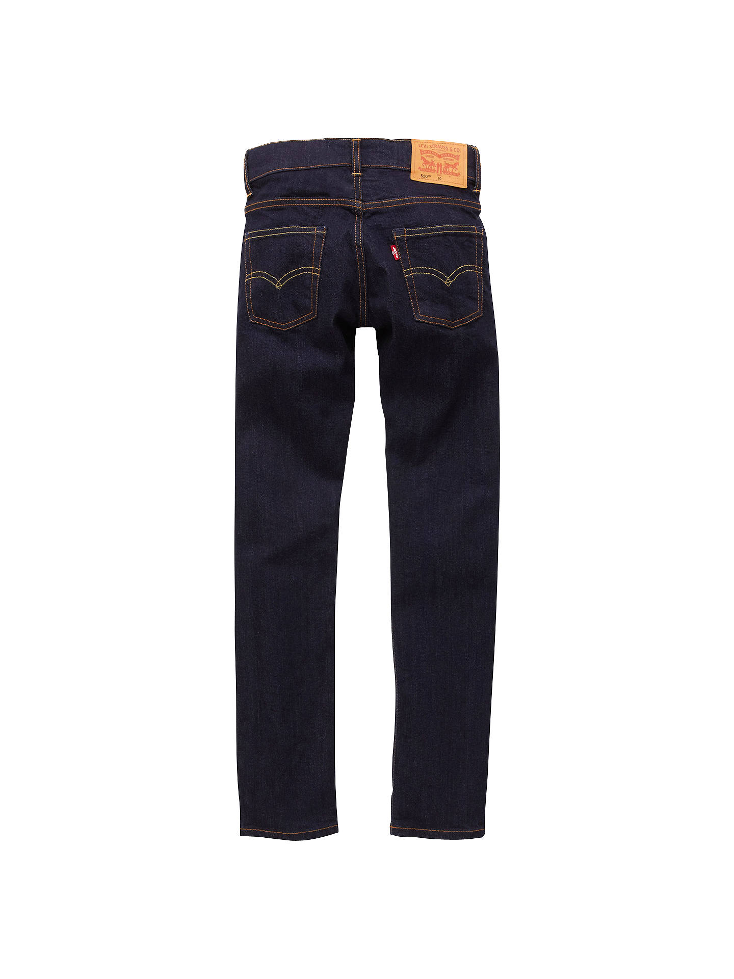 Buy Levi's Boys' 510 Skinny Fit Denim Jeans, Indigo, 6 years Online at johnlewis.com