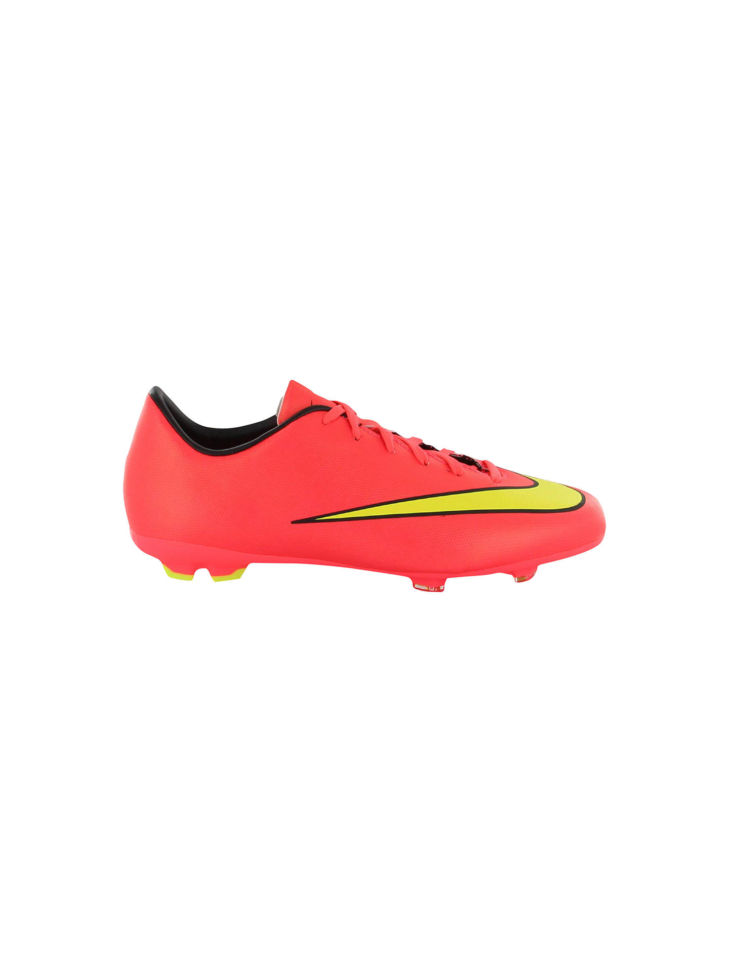 best service f21a0 5cee8 Nike Mercurial Victory V FG Football Boots, Neon Pink/Gold ...