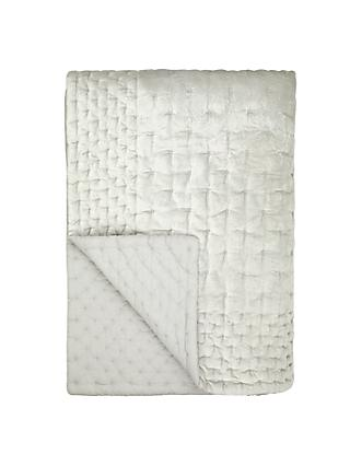 John Lewis & Partners Boutique Hotel Velvet Stitch Throw
