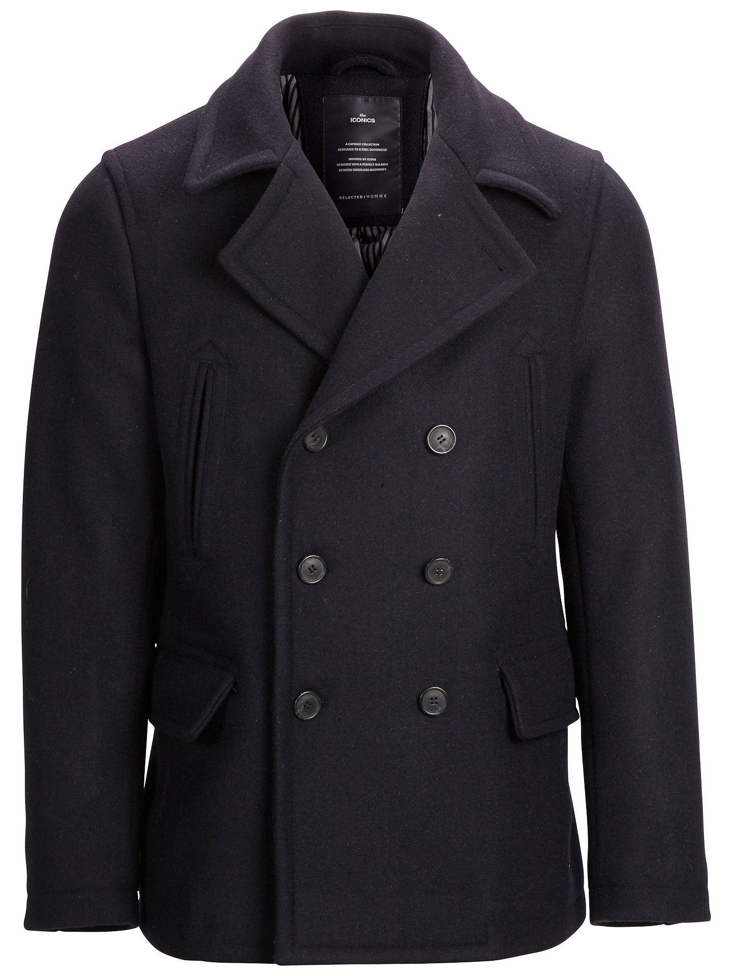 b30a180714e BuySelected Homme Iconic Peacoat